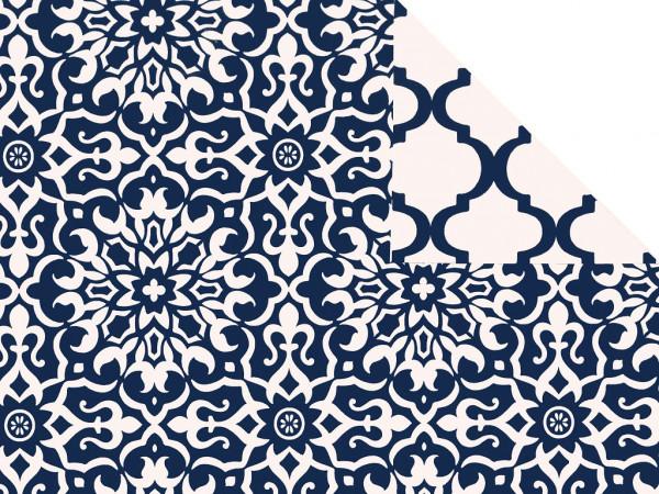 Geschenkpapier Blue Flower