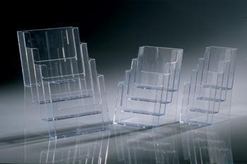 Acryl - Prospektständer 4xA5