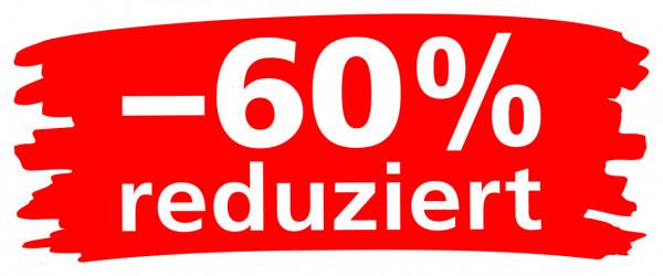 """Ankleber """"Wischer"""" -60% reduziert"""