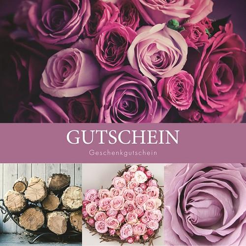 Gutscheine Pink Flower
