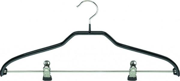 Strickwarenbügel mit Kragenform und Klammersteg, 46 cm