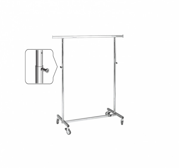 Rollständer - zusammenklappbar und höhenverstellbar 115 - 190 cm