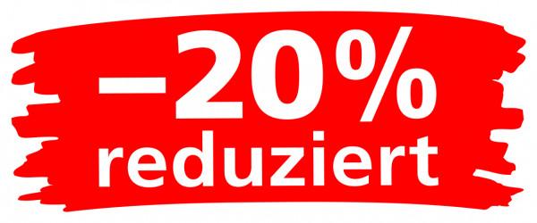 """Ankleber """"Wischer"""" -20% reduziert"""