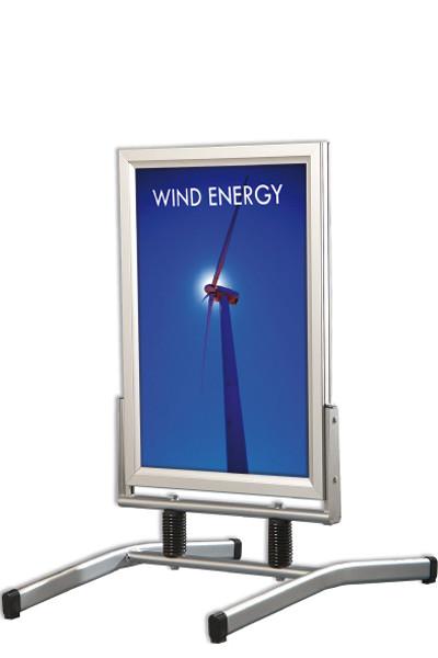 Kundenstopper Wind Line Lux