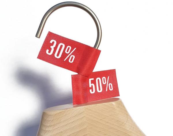 30%+50% Stofffähnchen