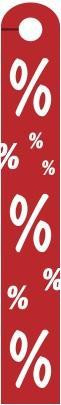 """Hänger """"% - Zeichen"""""""